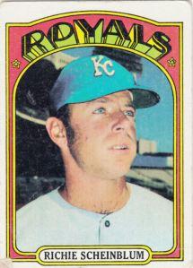 1972 Topps Richie Scheinblum