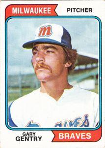 1974 Topps Alternate Universe Gary Gentry
