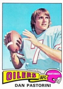 1975 Topps Football Dan Pastorini