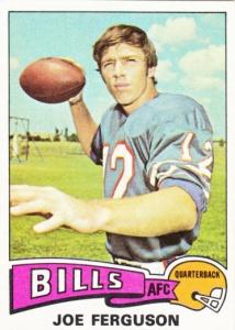 1975 Topps Football Joe Ferguson