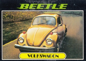 1976 Topps Autos Of 1977 Beetle