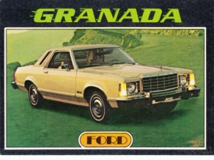 1976 Topps Autos Of 1977 Granada