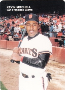 1988 Mother's Cookies Kevin Mitchell