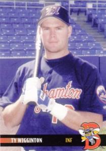 2000 Blueline Binghamton Mets Ty Wigginton