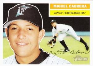 2005 Heritage Miguel Cabrera