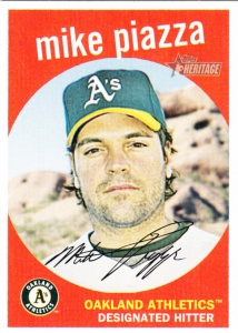 2008 Heritage Mike Piazza