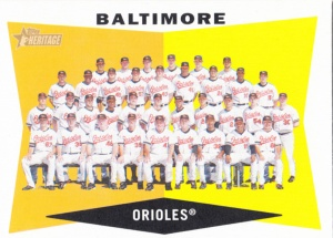 2009 Heritage Baltimore Orioles