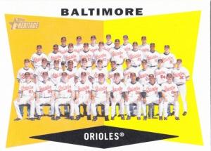 2009 Heritage Baltimore Orioles