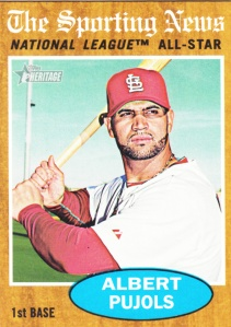 2011 Heritage Albert Pujols AS