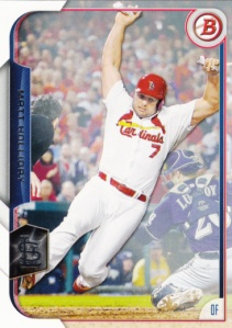 2015 Bowman Matt Holliday