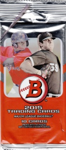 2015 Bowman wrapper