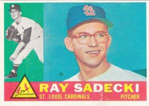 1960 Topps Ray Sadecki
