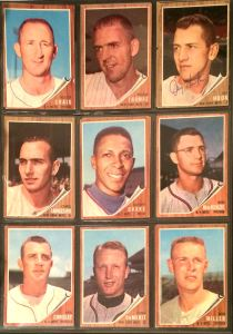 1962 Topps Mets Binder page