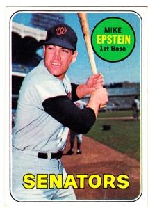 1969 Topps Mike Epstein