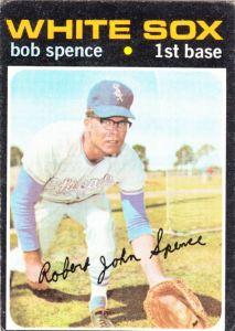 1971 Topps Bob Spence