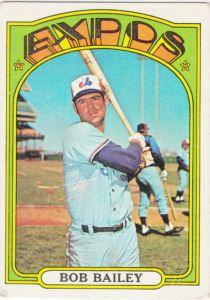 1972 Topps Bob Bailey