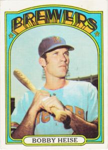 1972 Topps Bobby Heise