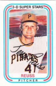 1976 Kelloggs Jerry Reuss