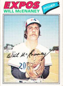 1977 OPC Will McEnaney