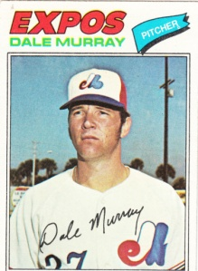 1977 Topps Dale Murray