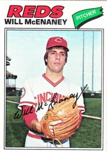 1977 Topps Will McEnaney