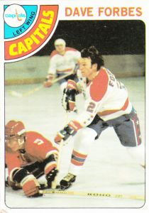 1978-79 Topps Hockey Dave Forbes