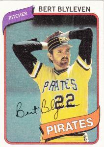 1980 Topps Bert Blyleven