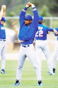 1998 Pinnacle Mets Snapshots Bernard Gilkey