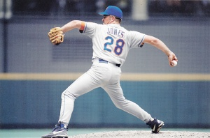 1998 Pinnacle Mets Snapshots Bobby Jones