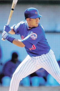 1998 Pinnacle Mets Snapshots Edgardo Alfonzo