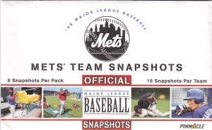 1998 Pinnacle Mets Snapshots pack front