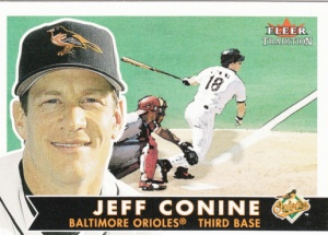 2001 Fleer Tradition Jeff Conine