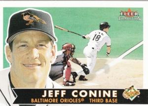 2001 Fleer Tradition Jeff Conine