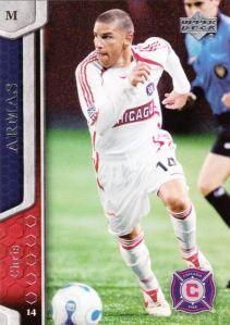 2007 Upper Deck MLS Chris Armas