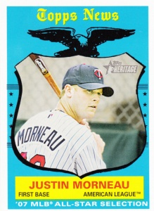 2008 Heritage Justin Morneau AS
