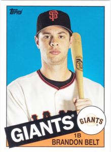 2013 Topps Archives Brandon Belt