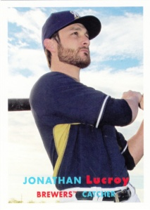 2015 Topps Archives Jonathan Lucroy