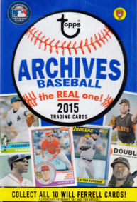 2015 Topps Archives Value wrapper