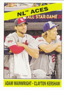 2015 Topps Heritage NL Aces