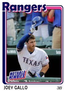 2015 TSR #137 - Joey Gallo