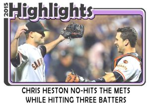 2015 TSR #162 - Chris Heston No Hitter