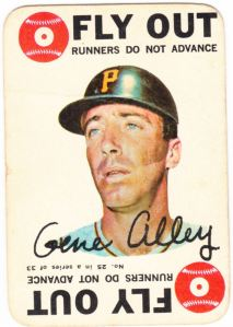 1968 Topps Game Gene Alley