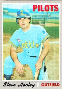 1970 Topps Steve Hovley