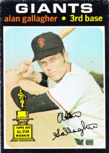 1971 Topps Alan Gallagher