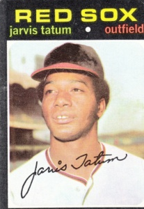1971 Topps Jarvis tatum
