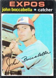 1971 Topps John Boccabella