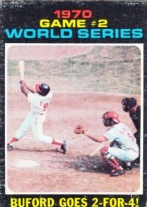 1971 Topps World Series Game 2