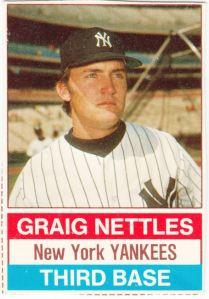 1976 Hostess Graig Nettles