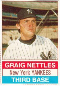 1976 Hostess Graig Nettles
