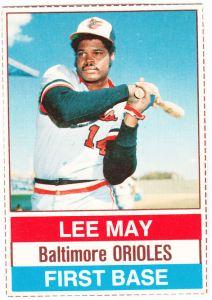 1976 Hostess Lee May